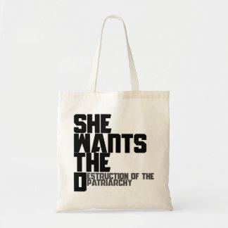 Ella quiere la D Bolsas De Mano