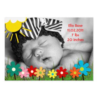 Ella Rose Birth Announcement