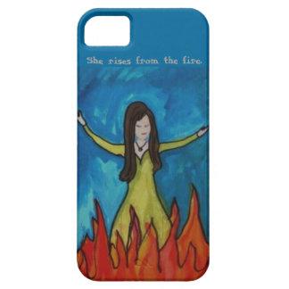 Ella sube del fuego iPhone 5 funda