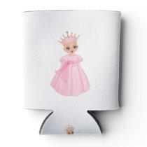 Ella The Enchanted Princess - Breast Cancer Can Cooler