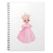 Ella The Enchanted Princess - Breast Cancer Notebook