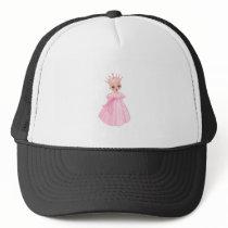 Ella The Enchanted Princess - Breast Cancer Trucker Hat