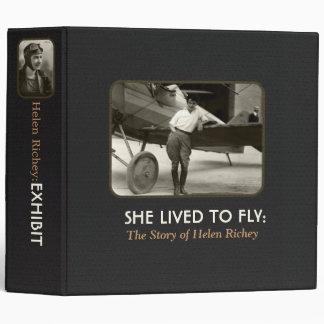 Ella vivió para volar Objeto expuesto