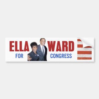 Ella Ward for Congress Bumper Sticker Car Bumper Sticker