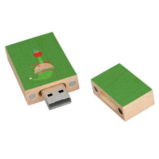 Ella Wood USB Flash Drive