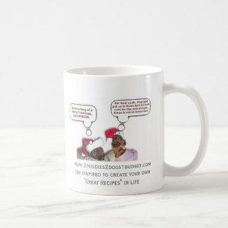 Ella y Louie discuten la vida - taza de café