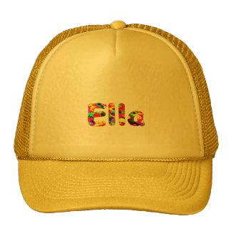 Ella yellow mesh cap trucker hat