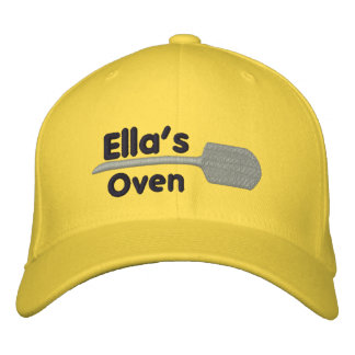 Ella's Oven Embroidered Hat