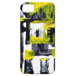 Elle-abstract-010-1620-Original-Abstract-Art-untit iPhone 5 Protectores