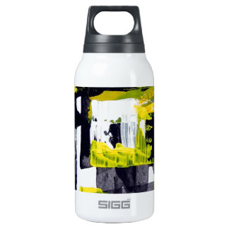 Elle-abstract-010-1620-Original-Abstract-Art-untit Insulated Water Bottle