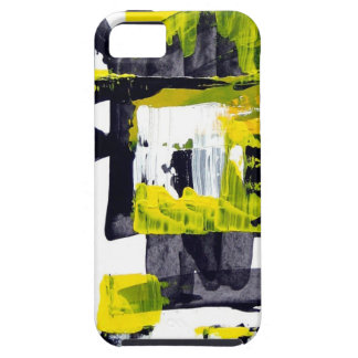 Elle-abstract-010-1620-Original-Abstract-Art-untit iPhone SE/5/5s Case