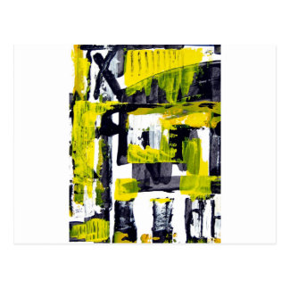 Elle-abstract-010-1620-Original-Abstract-Art-untit Postcard