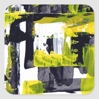 Elle-abstract-010-1620-Original-Abstract-Art-untit Sticker