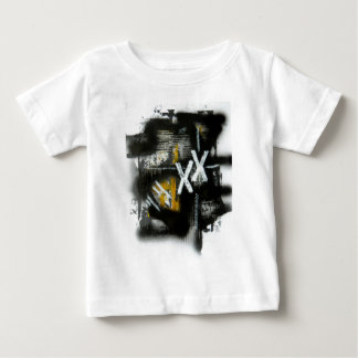 Elle-abstract-021-1620-F-Original-Abstract-Art-XX. Baby T-Shirt