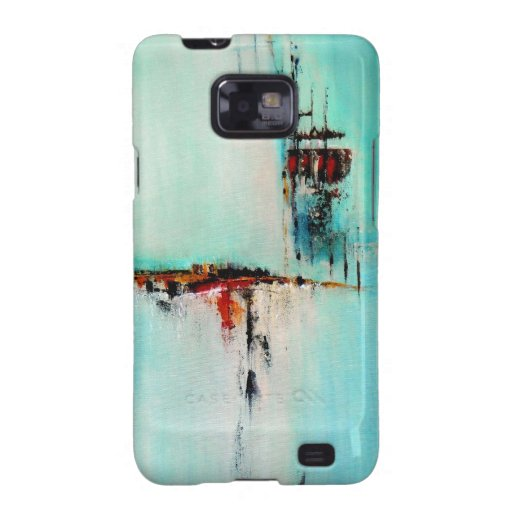 Elle-abstract-026-2424-Original-Abstract-Art-Off-S Samsung Galaxy S2 Fundas