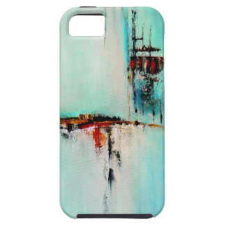 Elle-abstract-026-2424-Original-Abstract-Art-Off-S iPhone 5 Funda