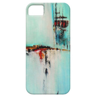 Elle-abstract-026-2424-Original-Abstract-Art-Off-S iPhone SE/5/5s Case