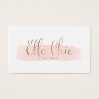 Elle Chic Custom Business Cards