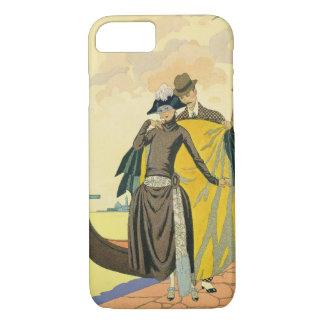 Elle et Lui, 1921 (pochoir ) iPhone 8/7 Case