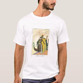 Elle et Lui, 1921 (pochoir print) T-Shirt