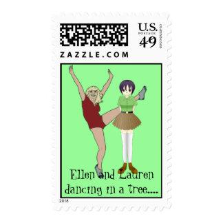 Ellen and Lauren Stamp - Customized