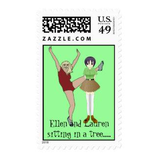 Ellen and Lauren Stamp