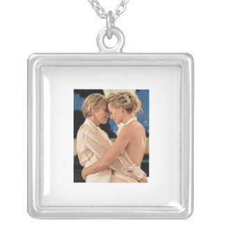 Ellen and Portia Silver Plated Necklace