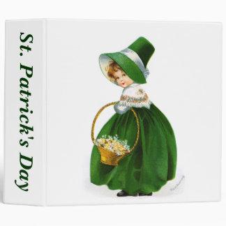 Ellen Clapsaddle's St. Patrick's Day Girl Binder