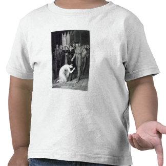 Ellen Douglas que muestra el anillo Camisetas