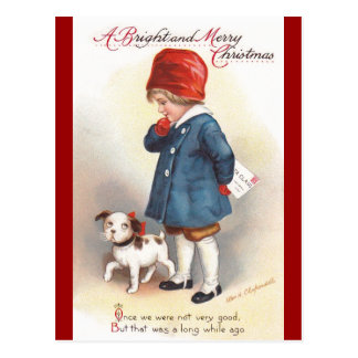 Ellen H. Clapsaddle: A Letter to Santa Postcard