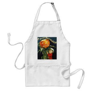 Ellen H. Clapsaddle: A Merry Halloween Adult Apron