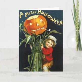 Ellen H. Clapsaddle: A Merry Halloween Greeting Card