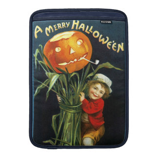 Ellen H. Clapsaddle: A Merry Halloween MacBook Sleeve