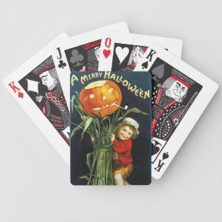 Ellen H. Clapsaddle: A Merry Halloween Bicycle Playing Cards