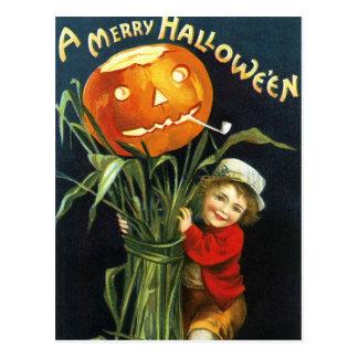 Ellen H. Clapsaddle: A Merry Halloween Postcard