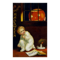 Ellen H. Clapsaddle: A Thrilling Halloween Poster at Zazzle