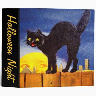 Ellen H. Clapsaddle: Black Cat on a Fence Binder