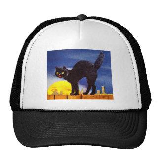 Ellen H. Clapsaddle: Black Cat on a Fence Trucker Hat
