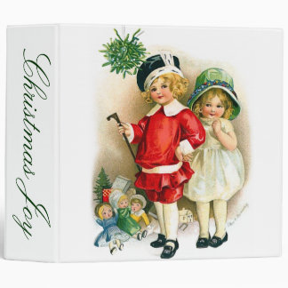 Ellen H. Clapsaddle: Boy and Girl with Toys Binder