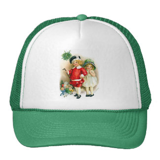 Ellen H. Clapsaddle: Boy and Girl with Toys Trucker Hat