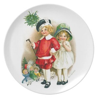 Ellen H. Clapsaddle: Boy and Girl with Toys