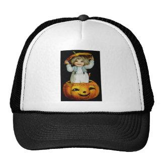 Ellen H. Clapsaddle: Boy in Pumpkin Trucker Hat