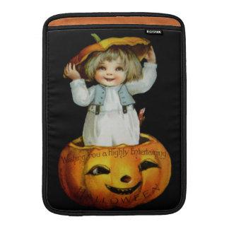 Ellen H. Clapsaddle: Boy in Pumpkin MacBook Air Sleeve