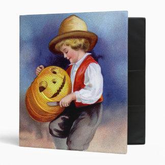 Ellen H. Clapsaddle: Boy with Jack O'Lantern 2 Binder