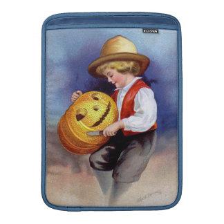 Ellen H. Clapsaddle: Boy with Jack O'Lantern 2 MacBook Air Sleeve