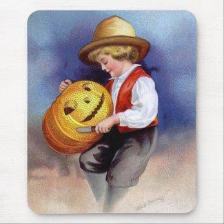 Ellen H. Clapsaddle: Boy with Jack O`Lantern 2