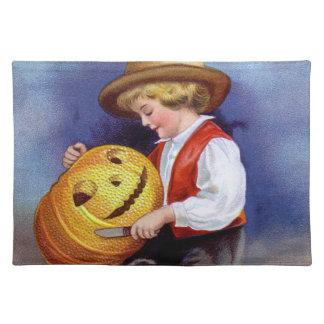 Ellen H. Clapsaddle: Boy with Jack O'Lantern 2 Placemat