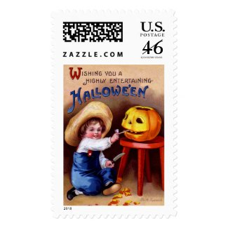 Ellen H. Clapsaddle: Boy with Jack O´Lantern