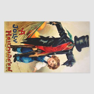 Ellen H. Clapsaddle: Boy with Scarecrow