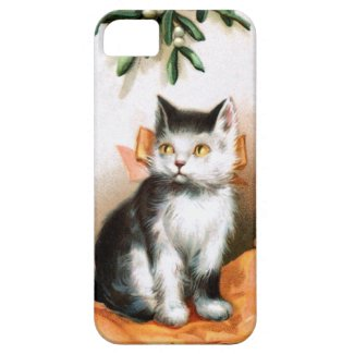 Ellen H. Clapsaddle: Cat under Mistletoe